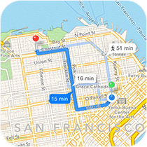 GPS Directions F