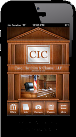 Attorney lawyer Mobile apps